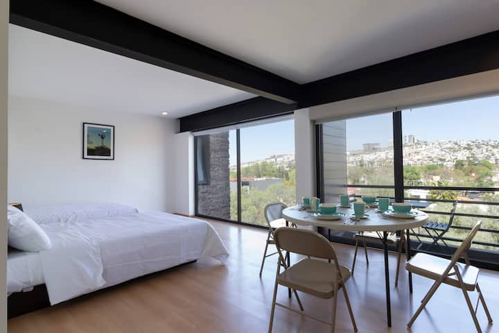 Beautiful double suite with balcony