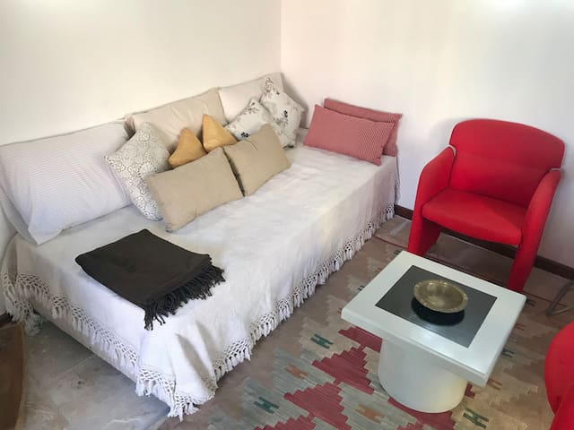 Sitting and bedroom