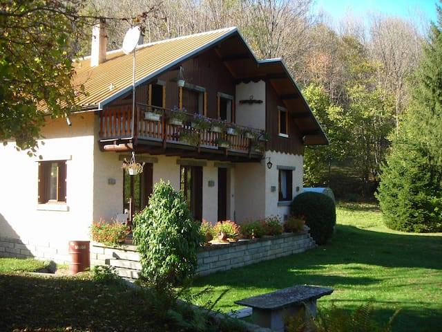 chalet familiale domaine des sybelles - Saint-Alban-des-Villards - Alpehytte