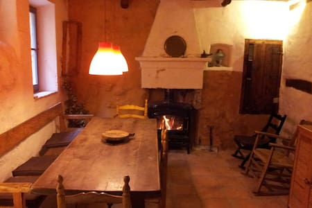 The Ruinmargalef, warm and cozy climbers house