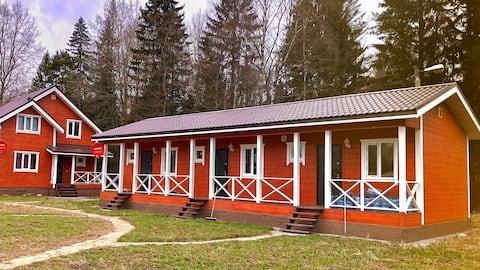Загородный дом для двоих 150м.от озера