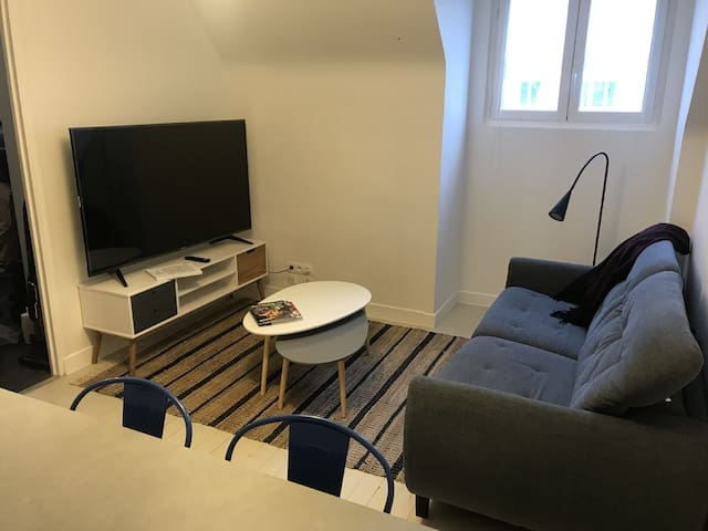 Appartement T2, centre ville, Bd de la Liberté