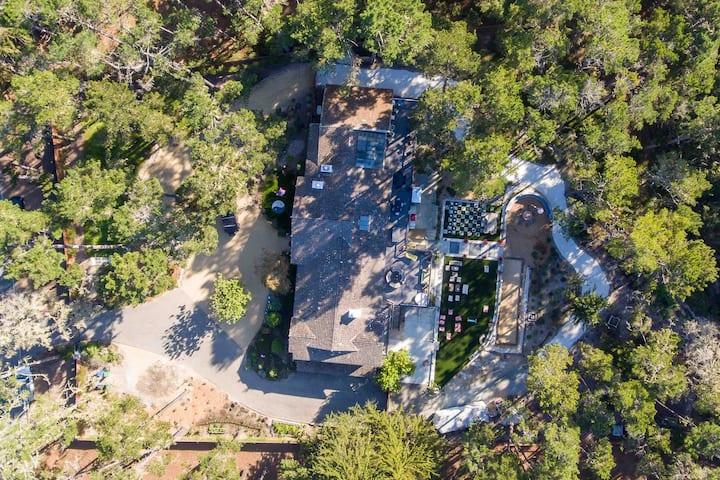 Pebble Beach Forest Modern Wonderland Estate