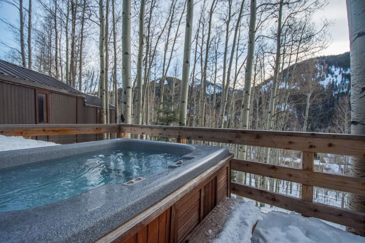 PRIVATE ROOM IN MOUNTAIN CABIN W/ HOT TUB