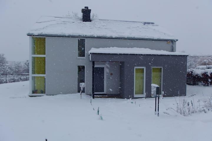 Le studio à louer (en hiver)