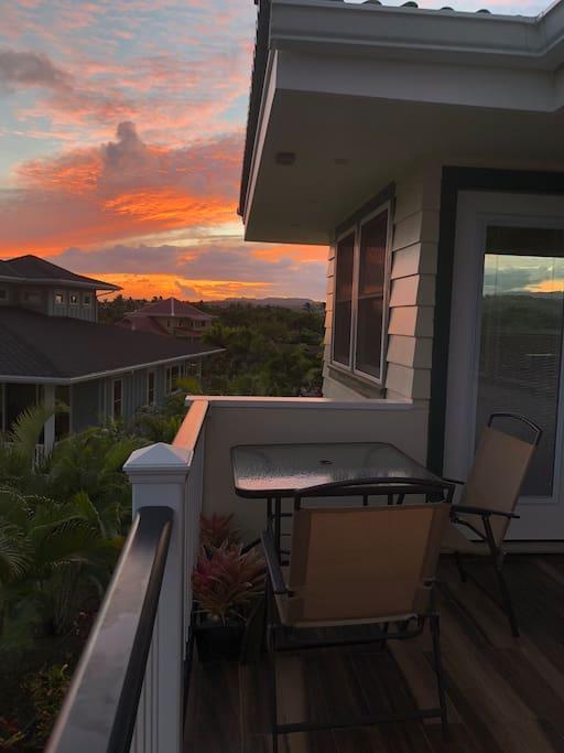 Beautiful Poipu Sunset Colors!