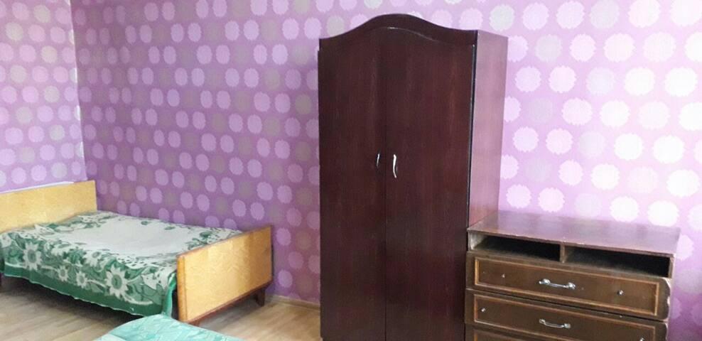 Двухкомнатная изолированная квартир