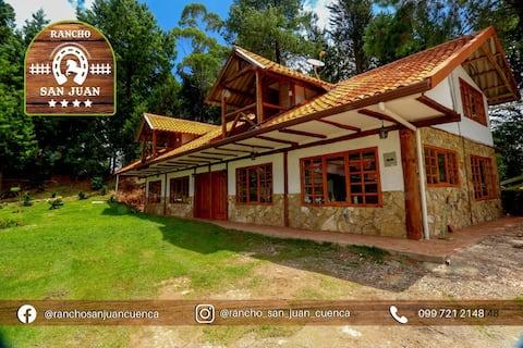 Casita de campo Rancho San Juan (20 min de Cuenca)