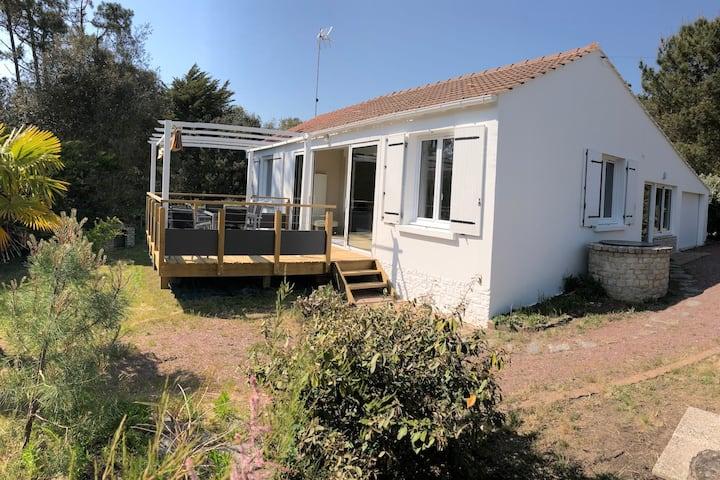 Maison de Vacances Tout Confort à 100m de l'océan