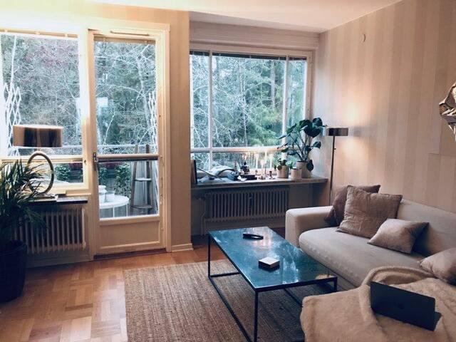 Wonderful apartment near the city center.