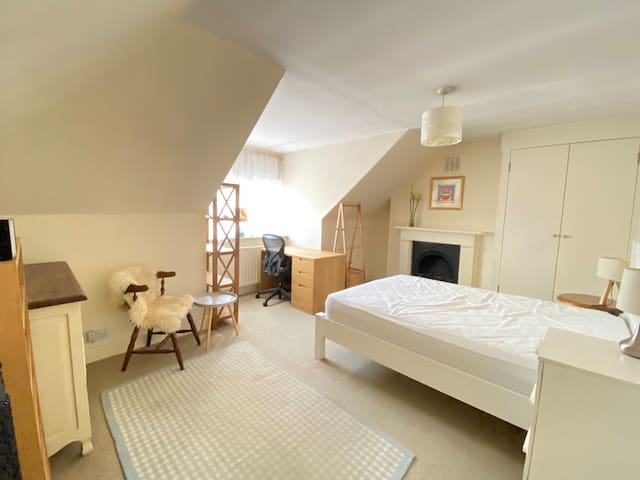 Large double bedroom in Centre of Putney