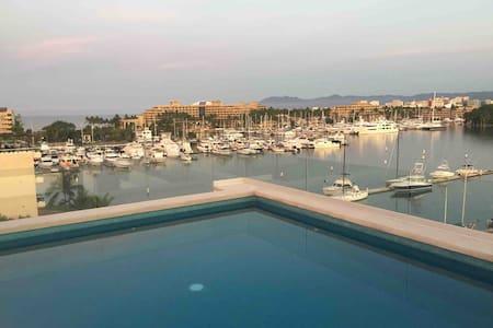NEW Marina Nuevo Vallarta, Rooftop Pool 360 Views