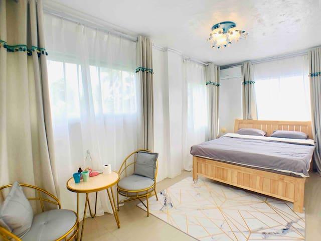 Coral Paradise  Home (珊瑚秘境民宿)—标准东南亚大床房(No.7)