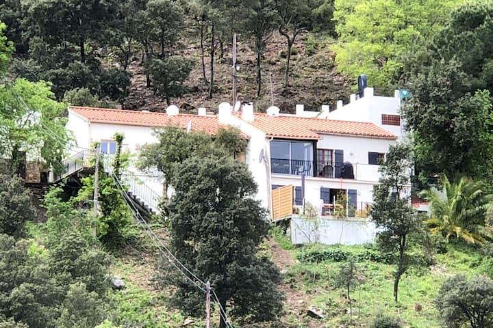 Villa preciosa cerca de Sorède con Piscina