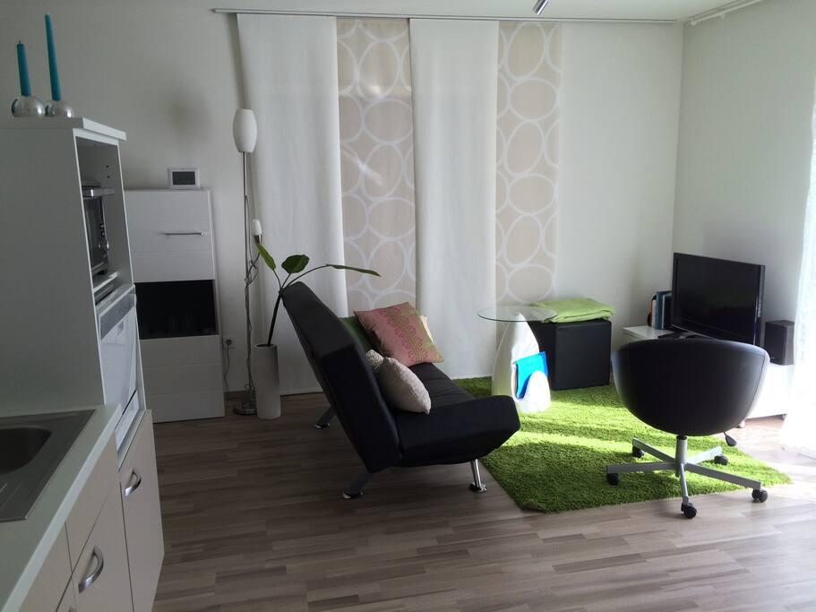 moderne neue ferienwohnung wohnungen zur miete in rhodt unter rietburg rheinland pfalz. Black Bedroom Furniture Sets. Home Design Ideas