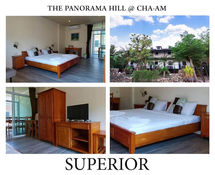 superior room 2 people @ the panorama hill @cha-am