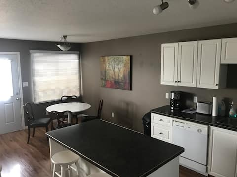 Renovated Spacious  bi level duplex - open concept