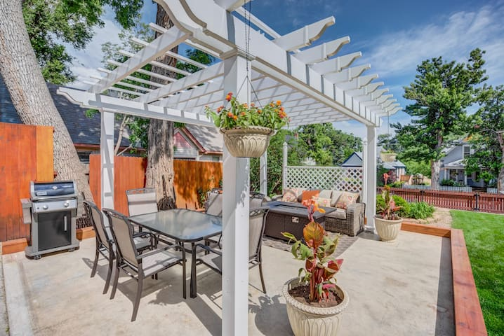3BR DOWNTOWN✶Olympic Training Center✶Fire Pit