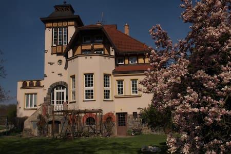 Secesní vila ve starobylém městě Olomouc - Olmütz - Haus