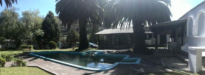 Hermosa quinta con piscina de aguas termales