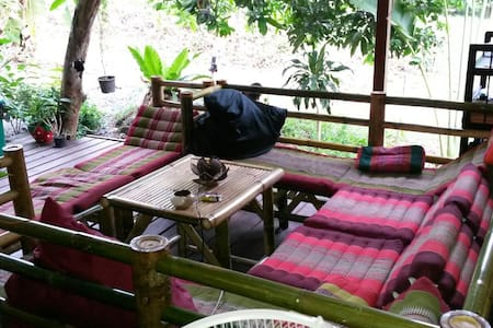 Jungle Vibes hostel - Ko Pha-ngan - Dorm