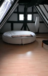 Urige Dachgeschosswohnung  bei SNH - Sinsheim - 公寓