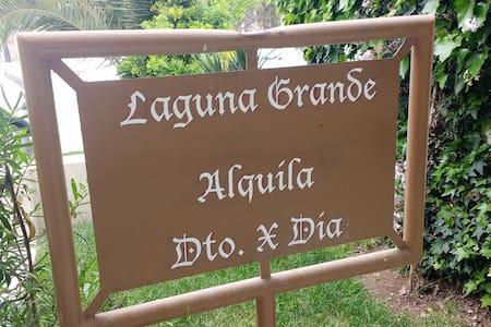 Departamento completo (N°1) - Laguna Grande