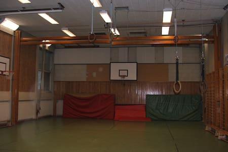 Swedish Rally - Gym Hall for group - Hagfors - Overig