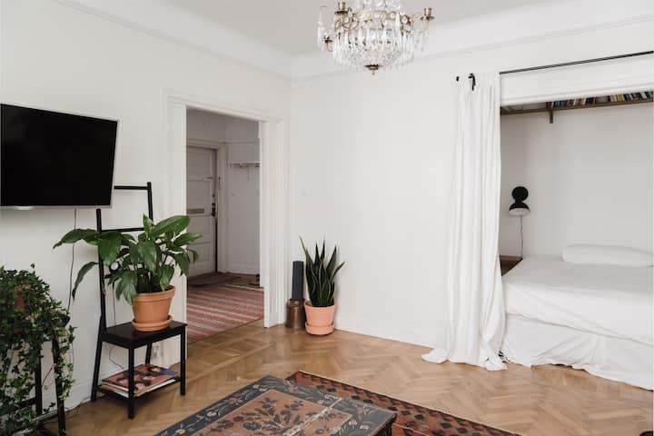 Cozy Scandinavian Studio in Södermalm