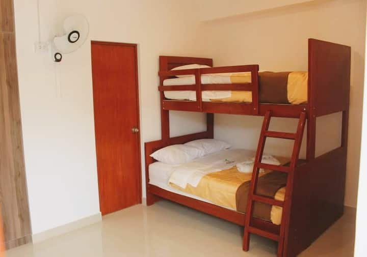 A DOUBLE BEDROOM ROOM private