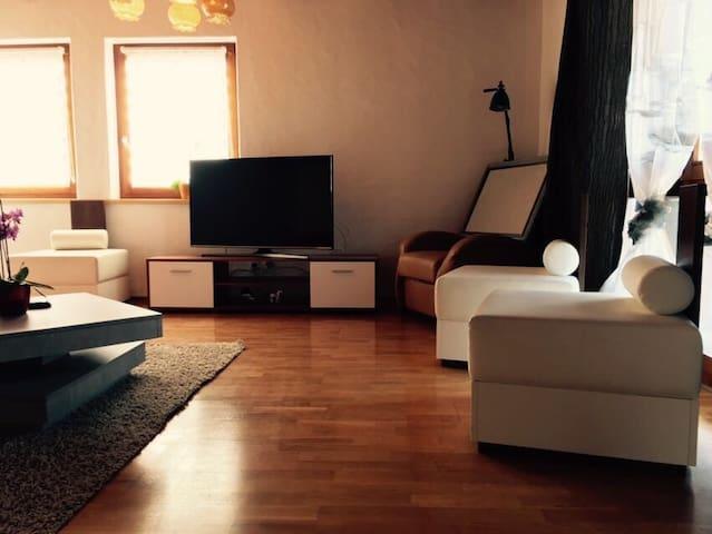 Ferienwohnung auf dem Lande nahe der Schweiz - Waldshut-Tiengen - Appartement