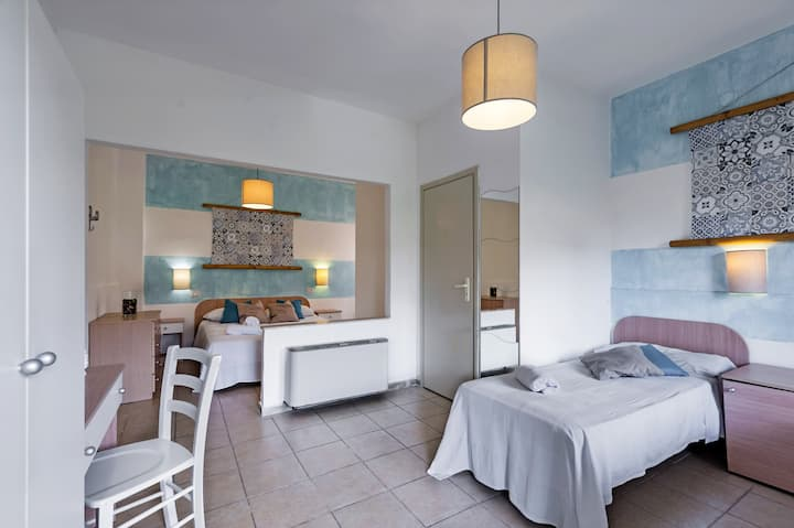 Rooms At 50 Mt. From The Beach In Fontane Bianche - Stanze al mare type A