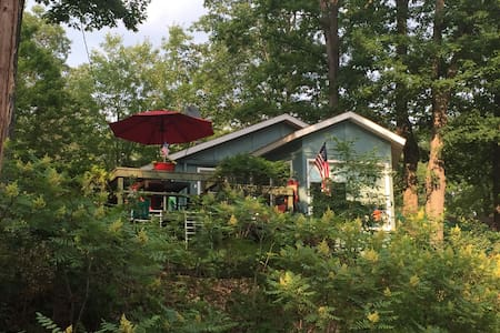 Hilltop Cottage Lakeview w/Bunkhouse/Pet Friendly! - Lake - House