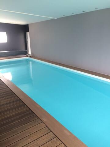 Maison avec piscine vue mer - Le Relecq-Kerhuon - Casa