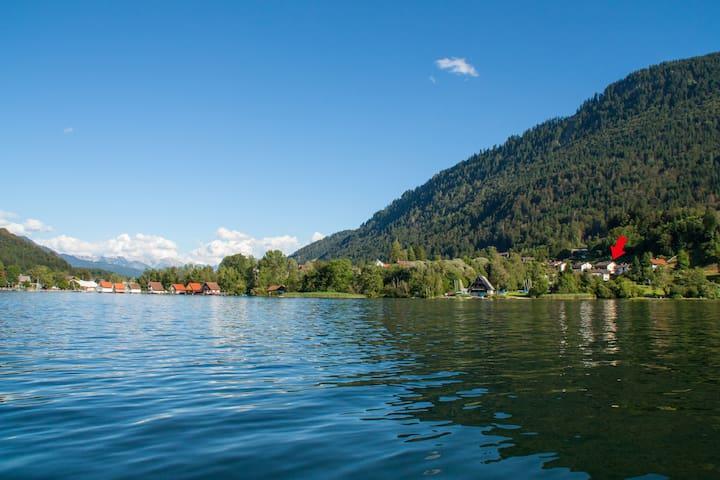 Ferienwohnung direkt am See - Immenstadt im Allgäu - Apartment