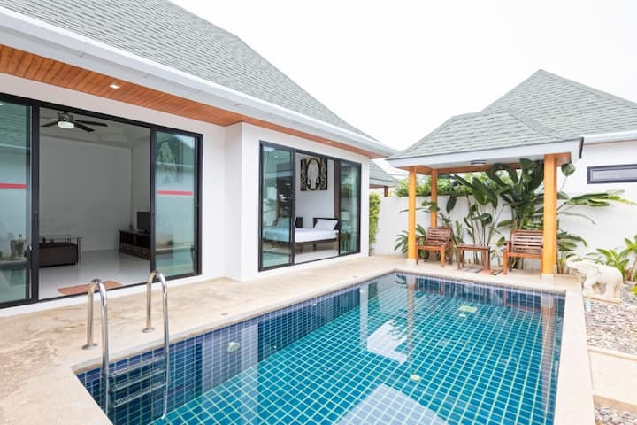 2 bedrooms Pool Villa 6/60(8 Villas for you)