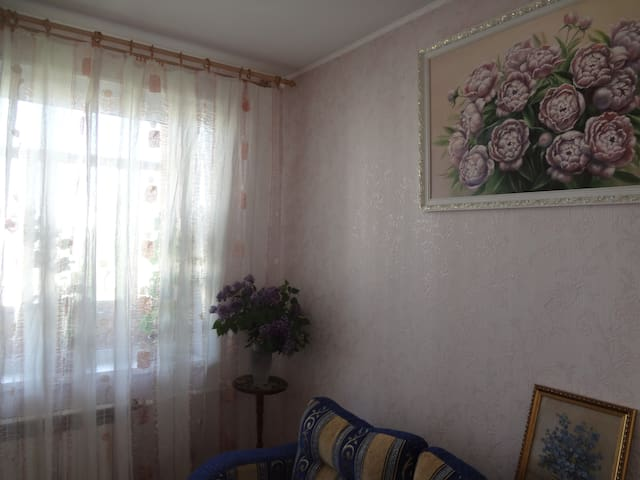 комната в 2-х комнатной квартире - Levashovo - Apartment