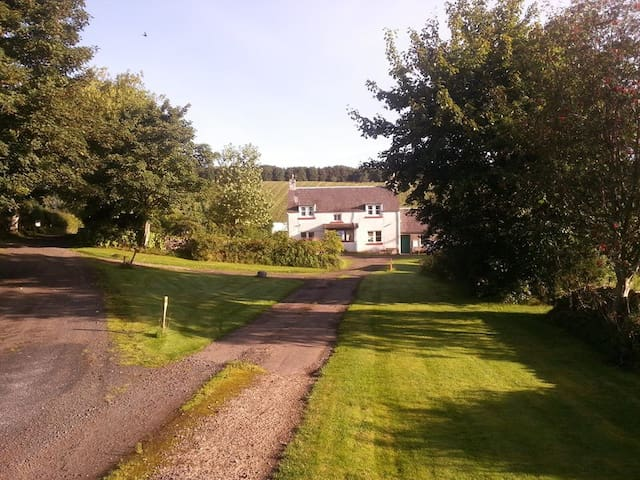 Farm cottage near Earlston