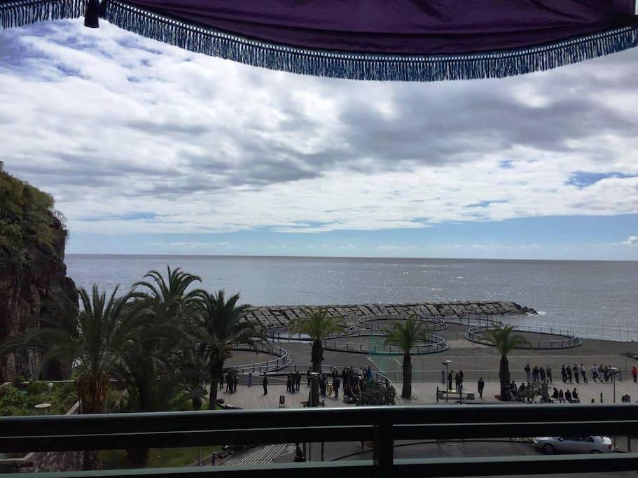 View seashore