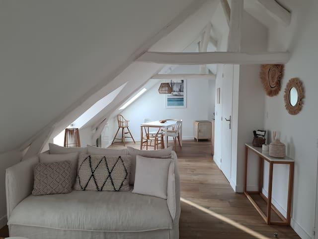 Santorin: Appartement lumineux au coeur de Vannes