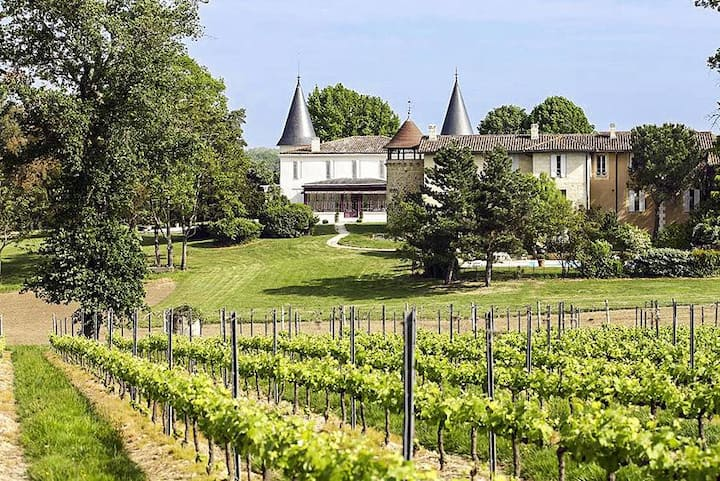 Chateau Belles Vignes at Nouvelle-Aquitaine