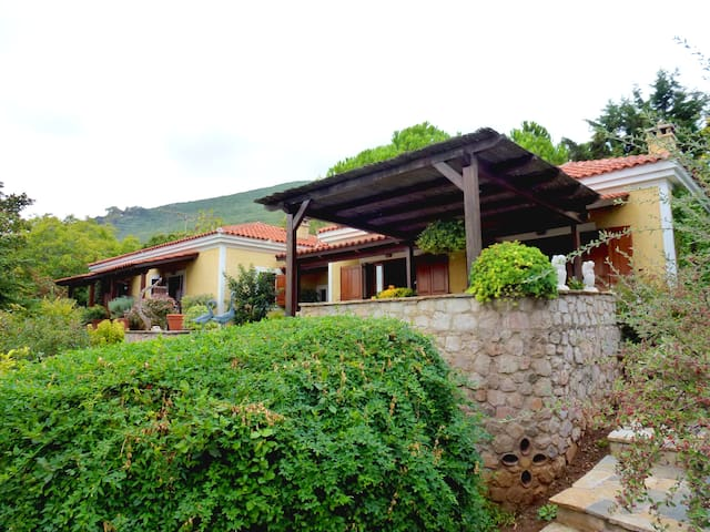 Luxury cottage style Villa near Aetofolia - Kiparissonas