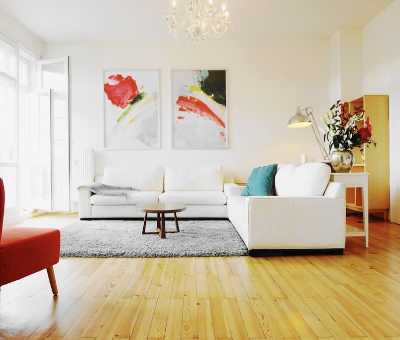 luxus apartment direkt an der isar wohnungen zur miete in m nchen bayern deutschland. Black Bedroom Furniture Sets. Home Design Ideas