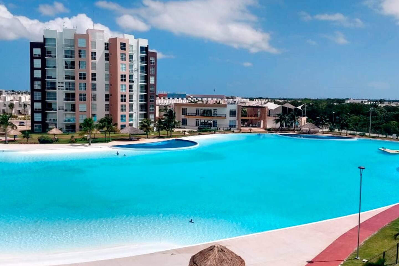 Hermoso departamento ubicado en el fraccionamiento Dream Lagoons en Cancún Quintana Roo. Cuenta con una majestuosa laguna cristalina de 1.8  hectáreas