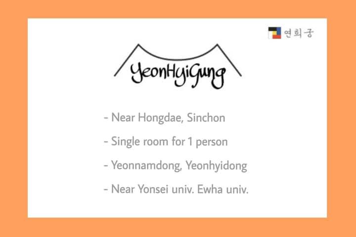 (Near Hongdae, Sinchon) Yeonhui house_B105