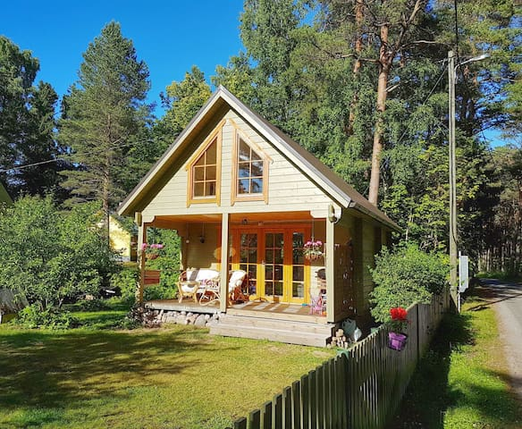 Well-equipped summerhouse with sauna in Võsu