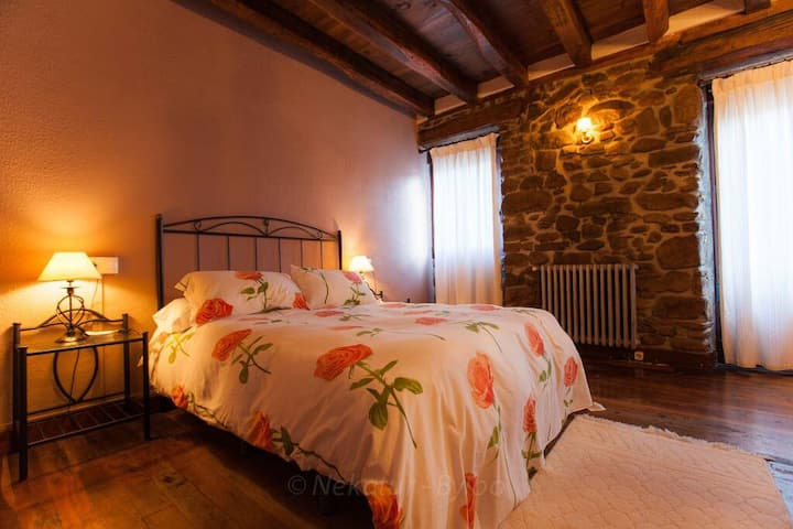 Habitación Doble Casa Rural Irigoien (2)