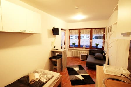CH01 cozy apartment with its own parking space and free WiFi near Chiemsee