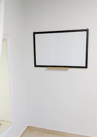 White board for workshop