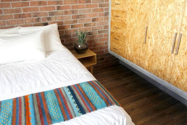 Dormitorio Independiente en Colonia Condesa - Ciudad de México - Flat